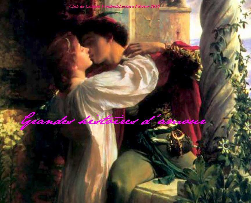 Club de lecture février 2015 - Les grandes histoires d'amour