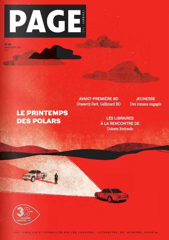 """Couverture """"Page - Le Printemps des polars"""""""